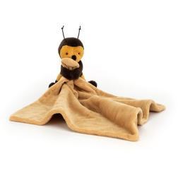 Doudou plat abeille
