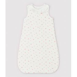 Gigoteuse cerise à collerette bébé en coton biologique