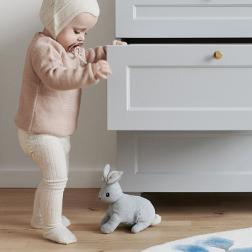 Jouet à tirer lapin