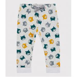 Pantalon en molleton bébé.