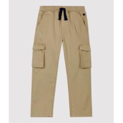 Pantalon regular en gabardine  enfant garçon