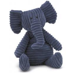 Peluche éléphant bleu medium