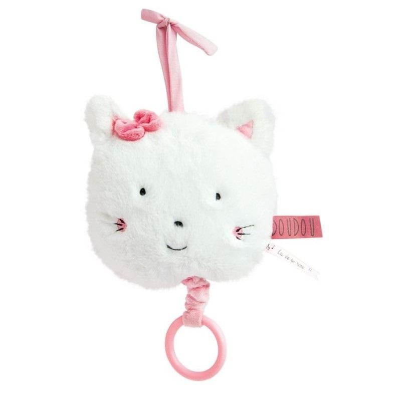 0Peluche musicale chat