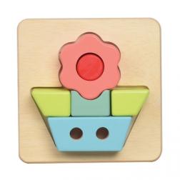 Puzzle 3D fleur