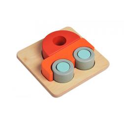 Puzzle 3D voiture