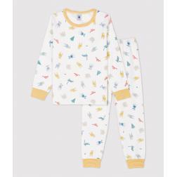 Pyjama imprimé animaux petite fille/petit garçon en molleton