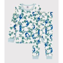 Pyjama imprimé chats petit garçon en tubique