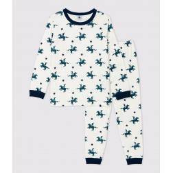 Pyjama imprimé chevaliers petit garçon en coton