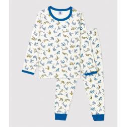 Pyjama imprimé patnhères petit garçon en tubique