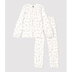 Pyjama petite fille imprimé étoiles petite fille en velours