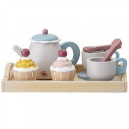 Service à thé et cup cake