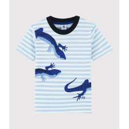 Tee-shirt manches courtes en jersey enfant garçon